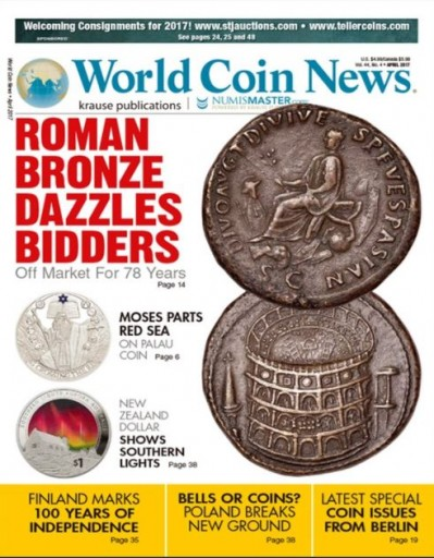 Media Scan for World Coin News