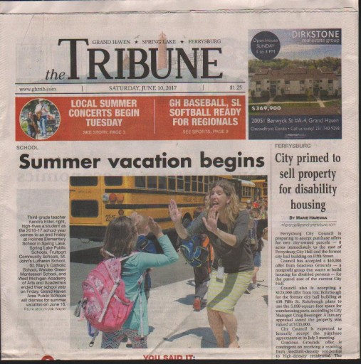 Media Scan for Grand Haven Tribune