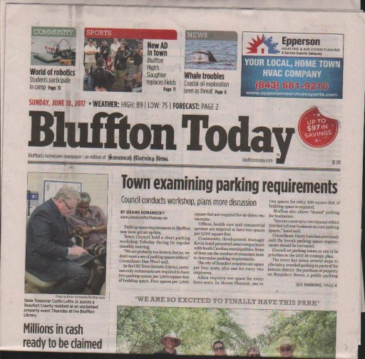 Media Scan for Bluffton Today
