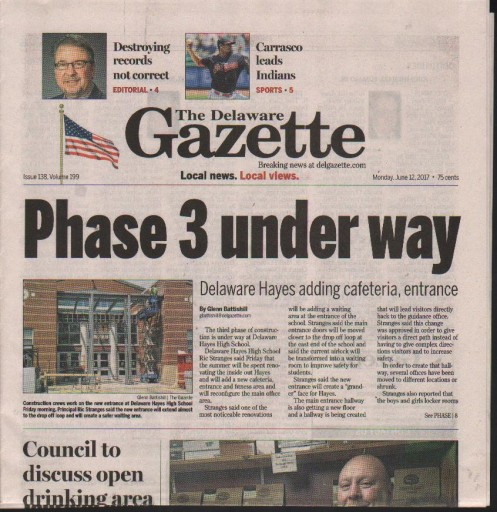 Media Scan for Delaware Gazette