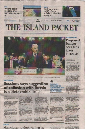 Media Scan for Bluffton Island Packet