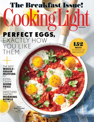 Media Scan for Cooking Light Magazine