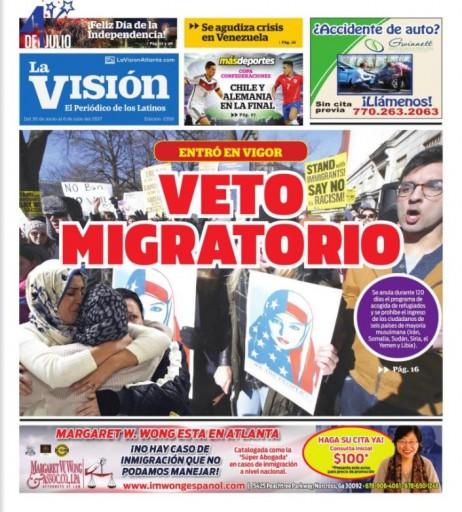 Media Scan for La Vision - Atlanta
