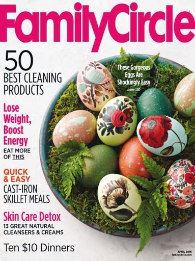 Media Scan for Family Circle Magazine