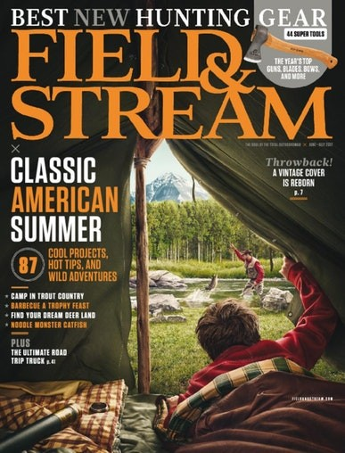 Media Scan for Field and Stream Magazine