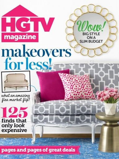 Media Scan for HGTV Magazine