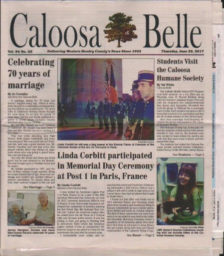 Media Scan for Caloosa Belle