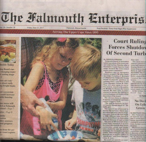 Media Scan for Falmouth Enterprise
