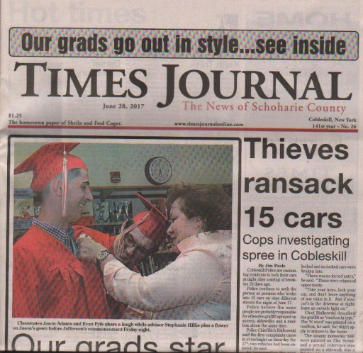 Media Scan for Cobleskill Times-Journal