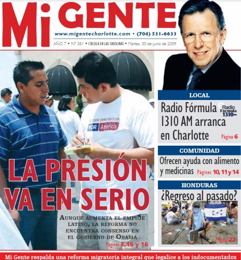 Media Scan for Mi Gente - Carolinas