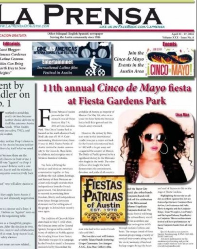 Media Scan for La Prensa - Austin