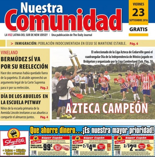 Media Scan for Nuestra Comunidad - New Jersey