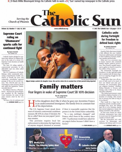 Media Scan for Phoenix Catholic Sun