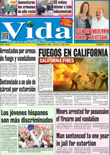 Media Scan for Vida - Oxnard