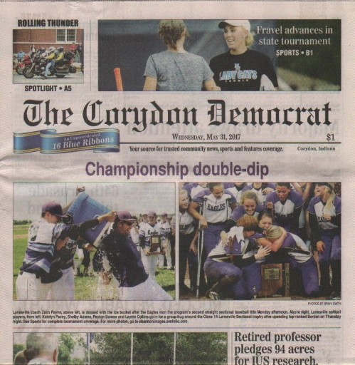 Media Scan for Corydon Democrat