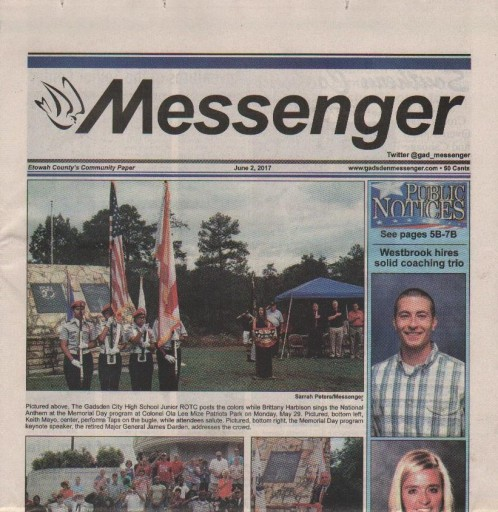 Media Scan for Gadsden Messenger