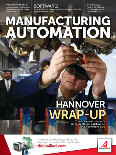 Media Scan for Manufacturing Automation