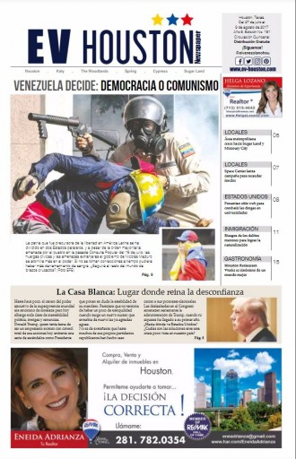 Media Scan for El Venezolano Houston