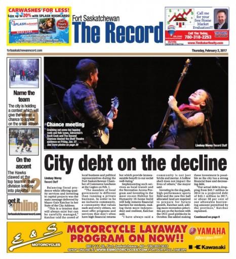 Media Scan for Ft. Saskatchewan Record