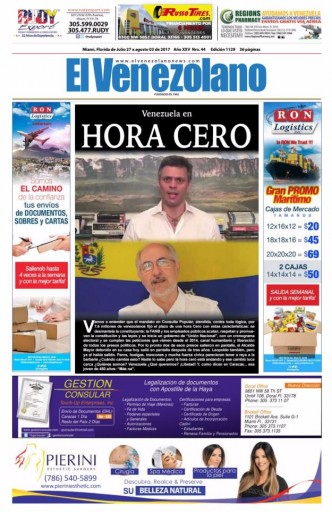 Media Scan for El Venezolano - Miami