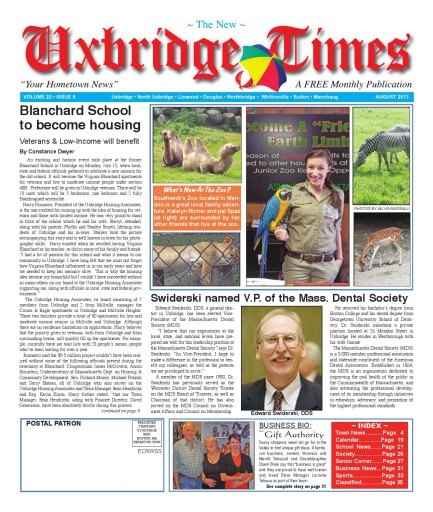 Media Scan for Uxbridge Times Journal