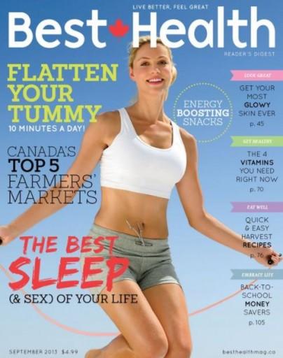 Media Scan for Best Health Magazine- Canada
