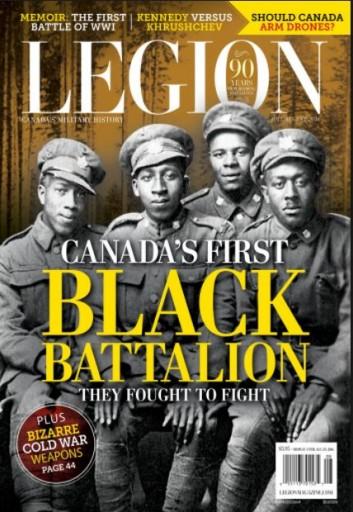 Media Scan for Legion Magazine