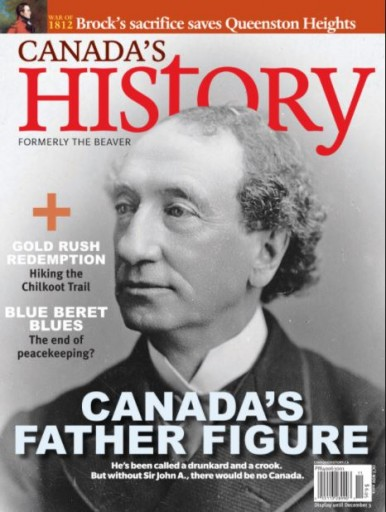 Media Scan for Canada's History Magazine