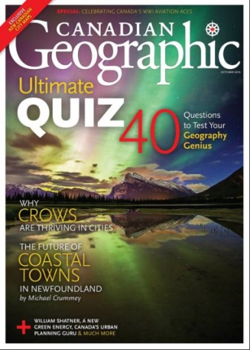 Media Scan for Canadian Geographic
