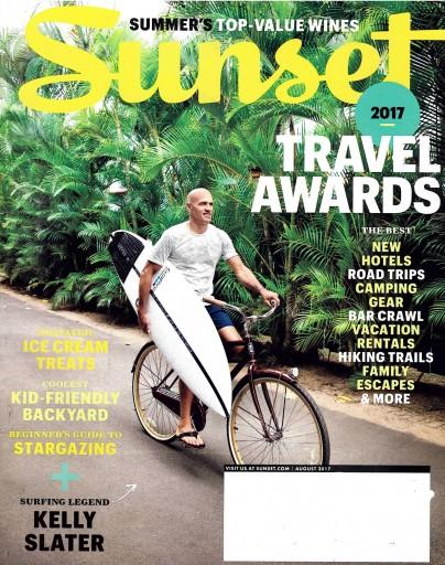 Media Scan for Sunset Magazine