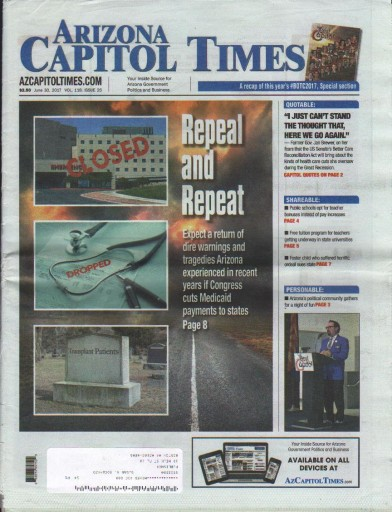 Media Scan for Arizona Capitol Times