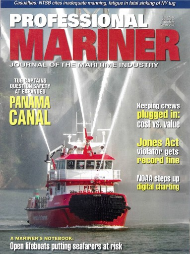 Media Scan for Professional Mariner