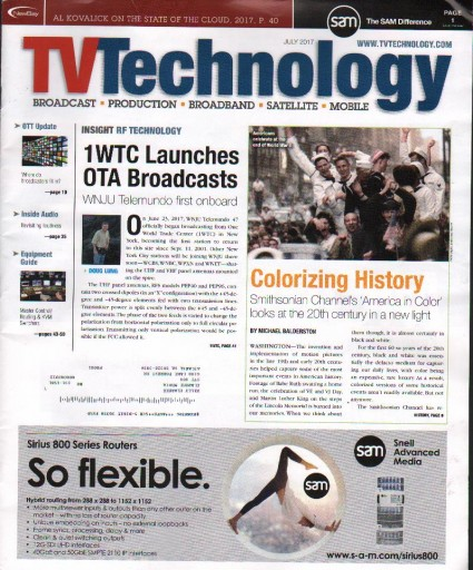 Media Scan for TV Technology