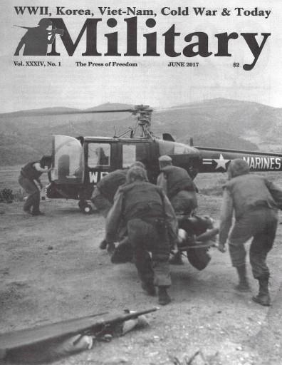 Media Scan for Military Magazine
