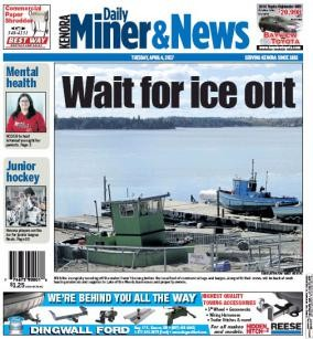 Media Scan for Kenora Daily Miner & News