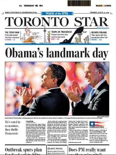 Media Scan for Toronto Star