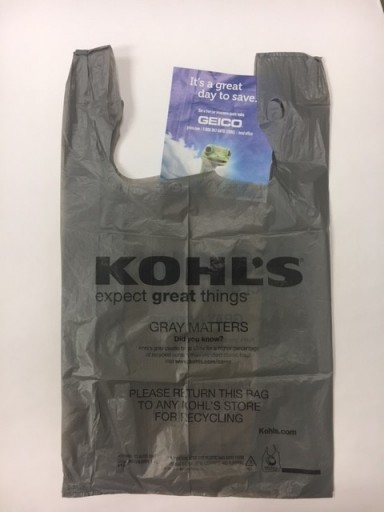 Media Scan for Kohl's Retail Bags