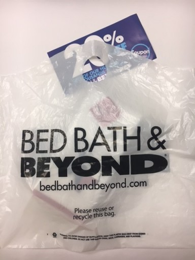 Media Scan for Bed Bath & Beyond Retail Bags