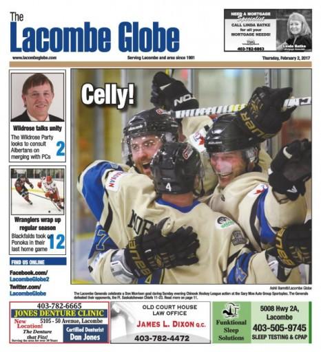 Media Scan for Lacombe Globe