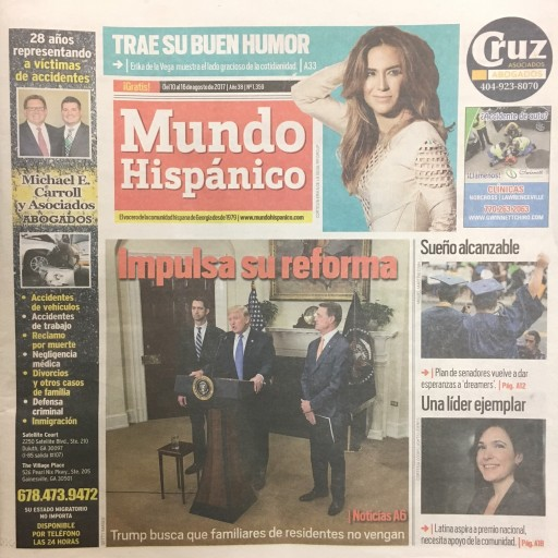 Media Scan for Mundo Hispanico - GA