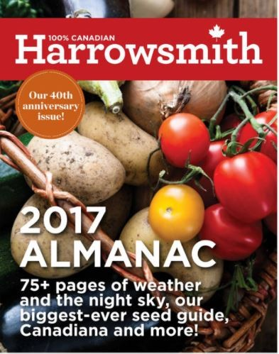 Media Scan for Harrowsmith's Truly Canadian Almanac