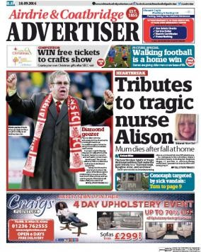 Media Scan for Airdrie & Coatbridge Advertiser