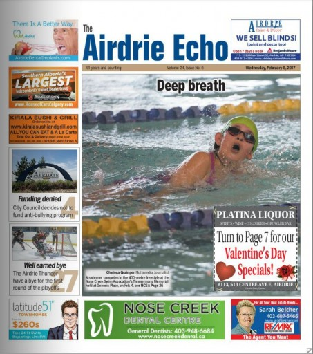 Media Scan for Airdrie Echo