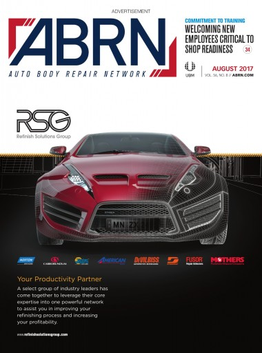 Media Scan for ABRN Auto Body Repair Network Magazine
