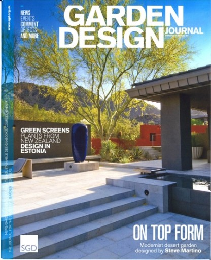 Media Scan for Garden Design Journal