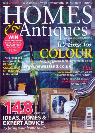 Media Scan for Homes & Antiques