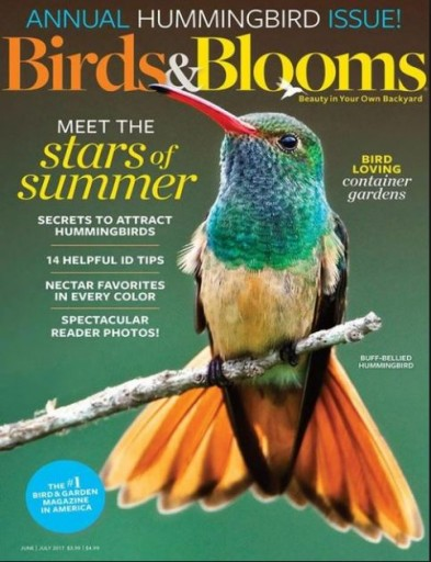 Media Scan for Birds & Blooms Magazine