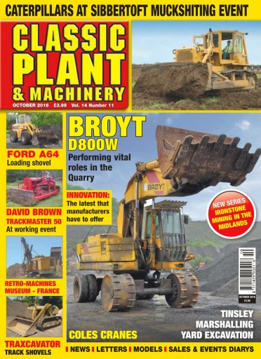 Media Scan for Classic Plant & Machinery