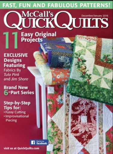 Media Scan for Quick Quilts