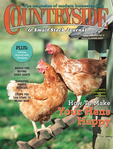 Media Scan for Countryside & Small Stock Journal